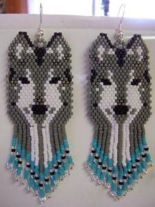 Волк из бисера мастер класс с пошаговым фото